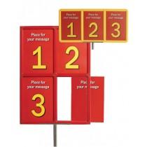 Flexiframe Subdivided 3x A4, 4x A4
